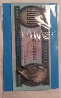 Hűtőmágnes 1000 Forint. 6×9 cm