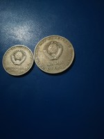1967-es 50 Kopejka + 1 Rubel  Lenin