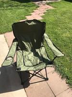 Horgász szék/strandszék/kempingszék - 2 db.