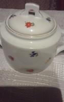 Zsolnay cukortartó teás készlethez