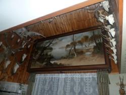 Extra méretű olaj festmény 342cmX152cm!!!!