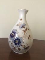 Búzavirágos zsolnay váza