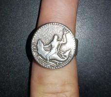 Poszeidón, Poseidon ezüst gyűrű