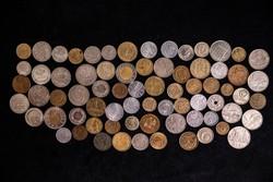 Különböző országok pénzérméi, 75 darab