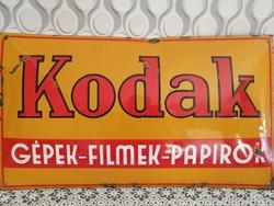 Kodak zománctábla
