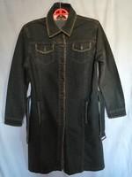 I.CAN jeans hosszú női farmer kabát, M-es