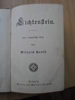 Wilhelm Hauff: Lichtenstein, eine romantische Sage, antik
