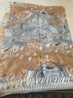 Kashmir sál pasztell színekkel, 200 x 75 cm