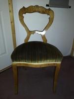 Antik, biedermeier szék eladó