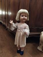 Antik kislány baba antik baba sonneberg porzellanfabrik