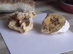 2db geodás kőzet együtt - 83,3dkg