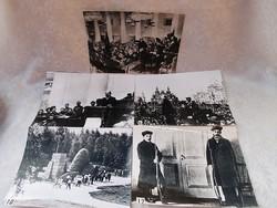 5 db Lenin fotó  23,5 cm x 17 cm