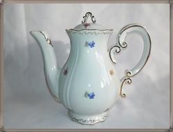 Zsolnay porcelán kávés kanna