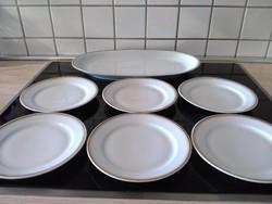 Alföldi porcelán süteményes készlet