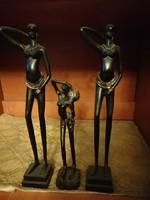 Afrikai Női szobrok fából