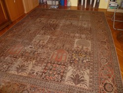Tabriz kézi perzsa szőnyeg kisebb hibákkal 370*270 cm