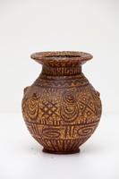 Gorka Géza írókázott váza  22 cm