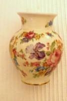 Thomas  virág mintás ibolya váza
