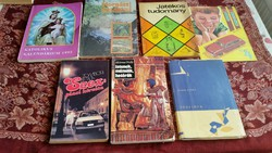 Katolikus kalendárium 1995,Horgászkalauz 86,Játékos tudomány, Szexpiaci kőrséta,Istenek,Múmiák, ...