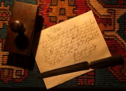 1800.május  27-én kelt kölcsönszerződés/papírrégiség