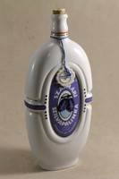 Hollóházi porcelán pálinkás butella 250