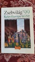 Zsebvilág 99, Kelet Európa tíz éve könyv eladó!