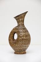 Gorka Géza váza, testéből formált füllel 37,5 cm