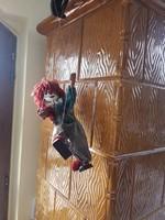 Régi marionett bábú