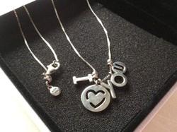 Eredeti Pandora ezüst nyaklánc medállal