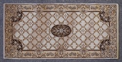 0K156 Retro barna összekötő szőnyeg 67 x 138 cm