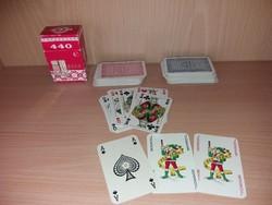 2x54 Lapos Kártyapakli
