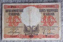 Ritka Albán 10 Lek 1940.