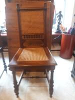Ó németh újra nádazott győnyőrüen felújjított étkező székek!!!!