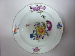 Meissen - Hüttl porcelán disztányér