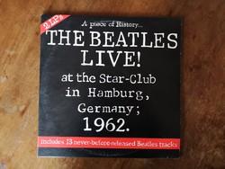 The Beatles - Live Hamburg koncert 1962, 2db bakelit lemez (antik, zene, gyűjtemény)