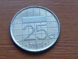 HOLLAND 25 CENT 1985