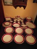 6 sz . étkészlet , süteményes klt . kávéskészlet