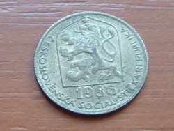 CSEHSZLOVÁKIA 20 HALERU 1986