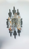 Brutalista fali lámpa