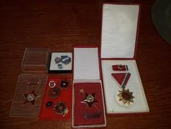 Szoci kitüntetések