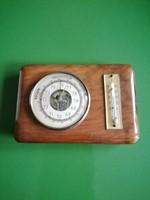 Barométer és hőmérő