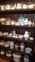 Zsolnay és egyéb vastagfalú századfordulós porcelán gyűjtemény