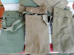Olasz Fiocchi katonai szövet táskák, oldaltáskák, 7db