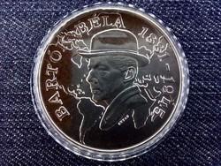 Bartók Béla ezüst 500 Forint 1981 BP BU / id 13082/