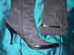 HIBÁTLAN spanyol nubuklakkbőr elegáns cipő bőr talppal