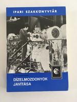 Dízelmozdonyok javítása (Ipari szakkönyvtár) - 1985 szerk: V.P. Ivanov