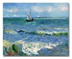 Új! Van Gogh híres festményének kiváló minőségű olaj vászonkép másolata