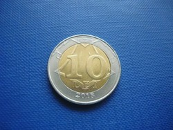 MOLDOVA 10 LEI 2018 ! UNC! BIMETÁL! NAGYON RITKA!