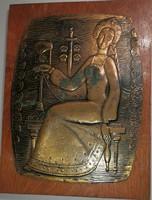 Orosz iparművész falikép
