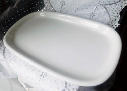 Alföldi fehér Saturnus nagy  tál  24x39cm